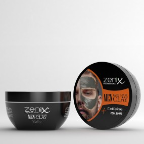 MEN FACE SERIES CLAY MASK CAFFEINE 350 G